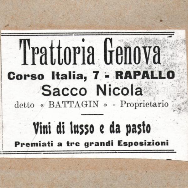 Trattoria Genova di Nicola Sacco