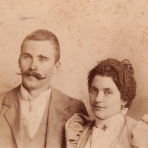 Nicola Sacco e sua moglie